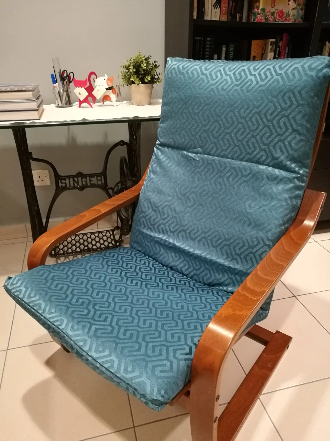ikea replacement chair covers ergonomic question poang cushion cover maze print