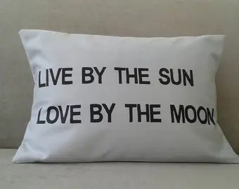 Download Live By The Sun Love by The Moon Sign Plaque Room Bedroom