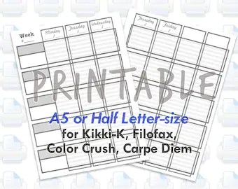 Printable Teacher Homeschooling Planner Pages for MAMBI Happy