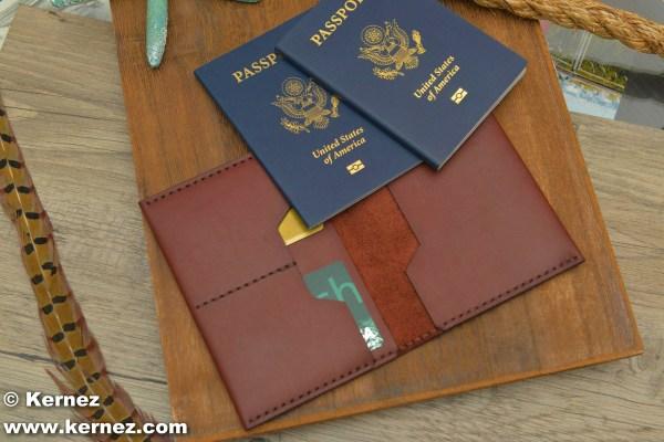 Multiple Passport Holder Double Wallet