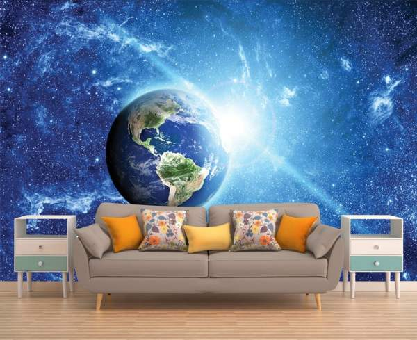 Space Wall Mural Outer Galaxy Wallpaper