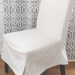 Pottery Barn Dining Chair Covers Folding Plastic Napa Slipcover