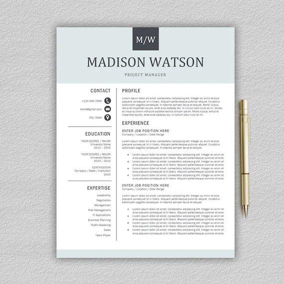 resume template word 2011 mac