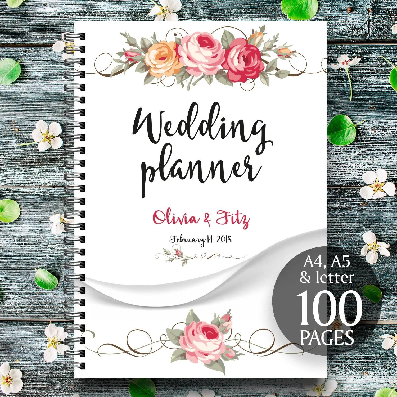 Floral Printable Wedding Planner Wedding Printable Binder