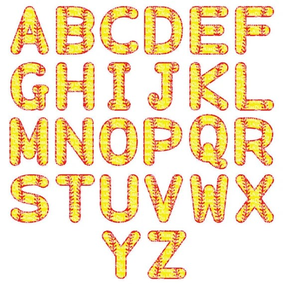 Download Love Baseball Monogram Font Svg Softball mom monogram svg ...