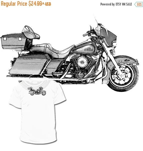 40% OFF Sale 1991 Harley Davidson Electra Glide by Drawinx