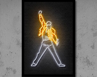 Neon home decor  Etsy