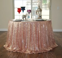 SEQUIN TABLECLOTH Rose Gold Select Your Size by ...