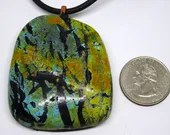 Faux Turquoise Polymer Cl...