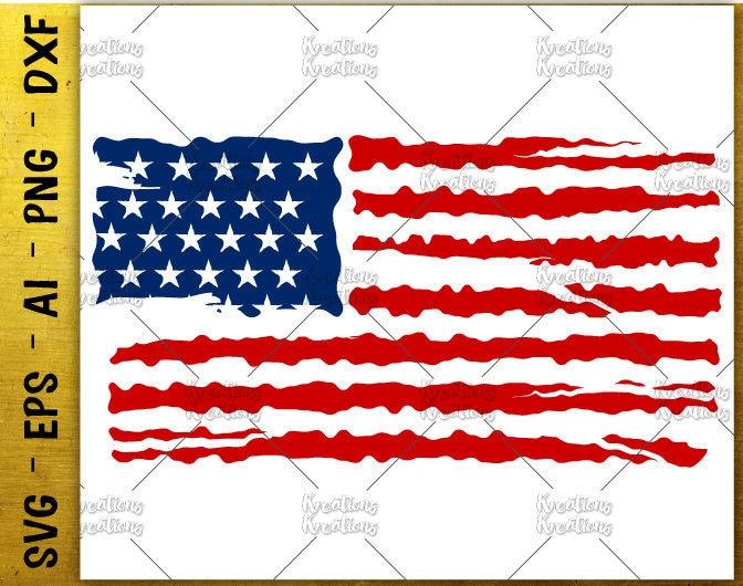 Download American Flag distress svg american flag usa flag ...