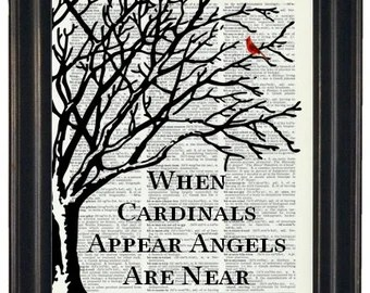 Download Handmade when a cardinal appears - Etsy