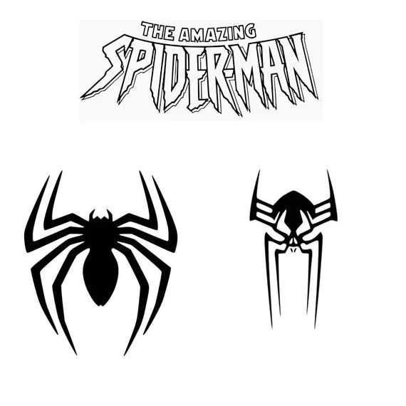 Spiderman Svg Eps Dxf Spider Spiderman 2099 Spiderman