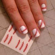 baseball nail decals softball