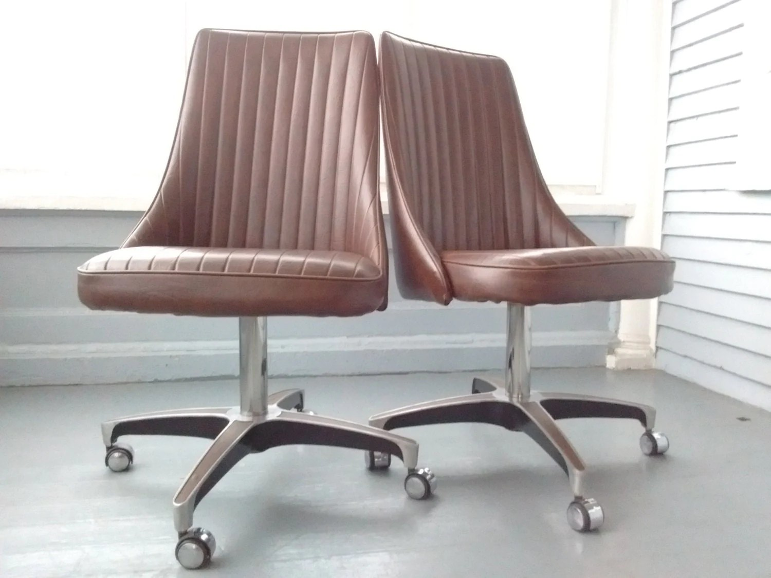 Chromcraft Chairs Sale Vintage Chromcraft Dining Chairs 70s Decor