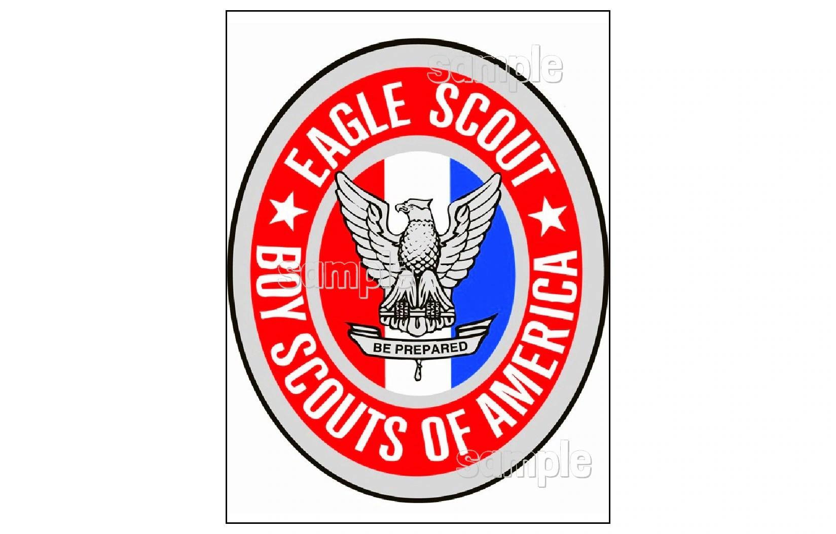 Eagle Scout Emblem Edible Image Cake Topper Decoration Sugar