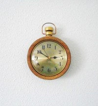 Pocket Watch Wall ClockOne-of-a-Kind Pocket Watch by ...
