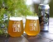 CRAFT BEER GLASS - Set of...