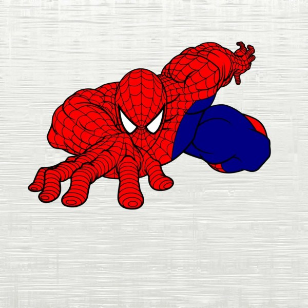 Spiderman Svg Marvel Cutfile