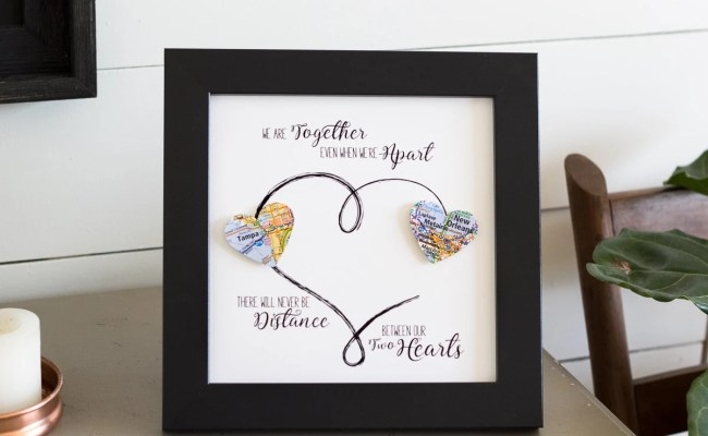 Personalized Best Friend Gift Long Distance Relationship