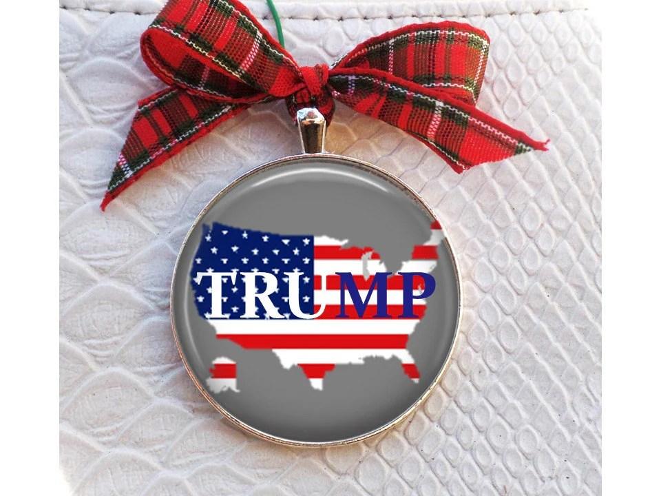 Trump Christmas Ornament Donald Trump Ornament Trump For