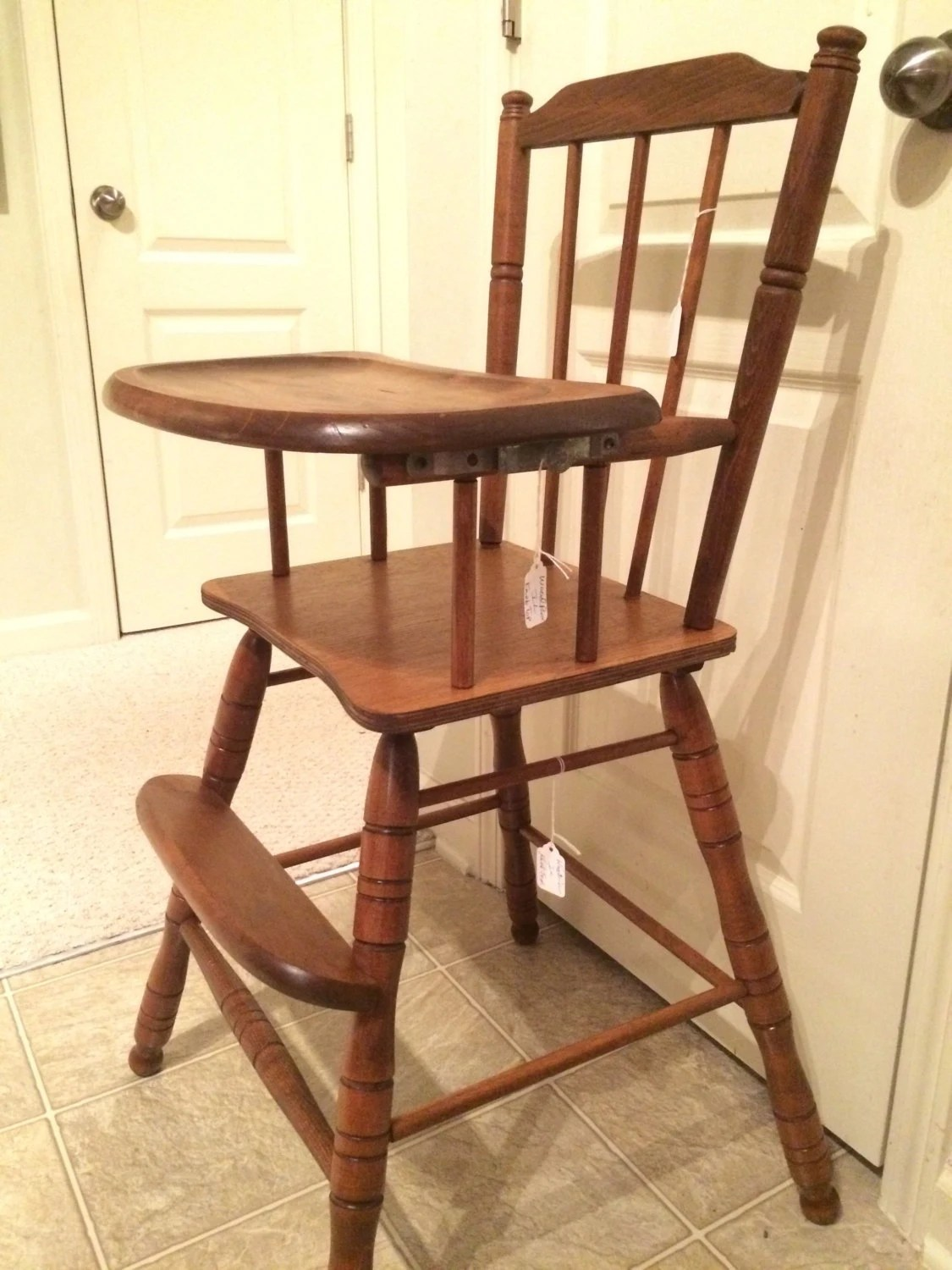 antique wooden chairs pictures wheelchair emoji reserved vintage high chair jenny lind