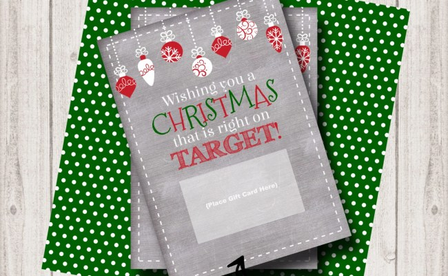 Items Similar To Instant Download Target Christmas Gift