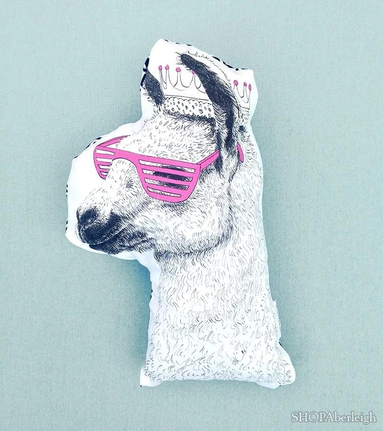 Llama pillow  Etsy