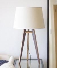 Mid-Century Modern Tripod Table Lamp by objectorienteddesign