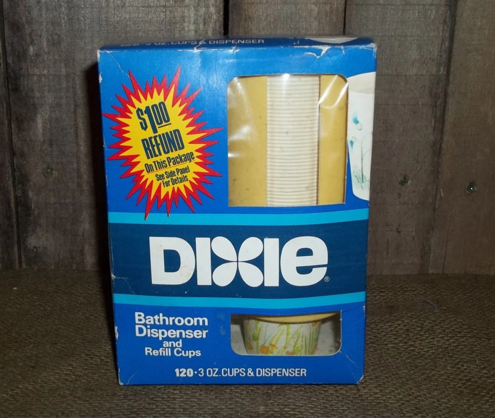 Vintage dixie cup  Etsy
