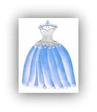 Princess Cinderella Dress Wall Art Princess Decor Girl