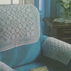 Chair Arm Covers Pattern Massage Panasonic Antimacassars Pdf Crochet Sofa