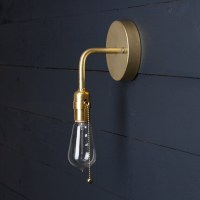 Brass Wall Sconce Pull Chain