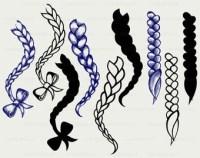 Braiding Hair Clipart | www.pixshark.com - Images ...