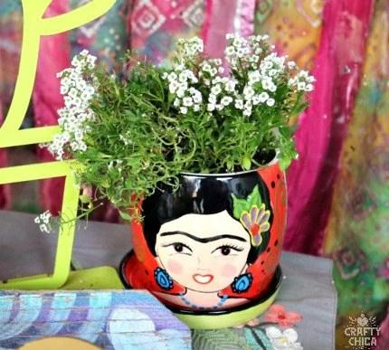 Frida Ceramic PLanter...