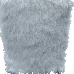 Faux Fur Chair Cover Eames Task Large Accent And Ottoman