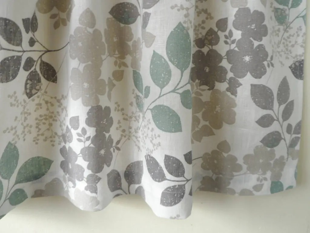 Kitchen Curtains White Gray Cafe Curtains Kitchen Valance