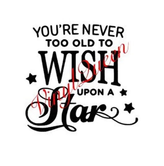 Your never too old to wish upon a star shadow box frame light