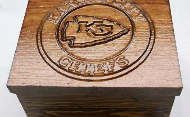 Personalized Kansas City Chiefs Gift Box Engraved Birthday