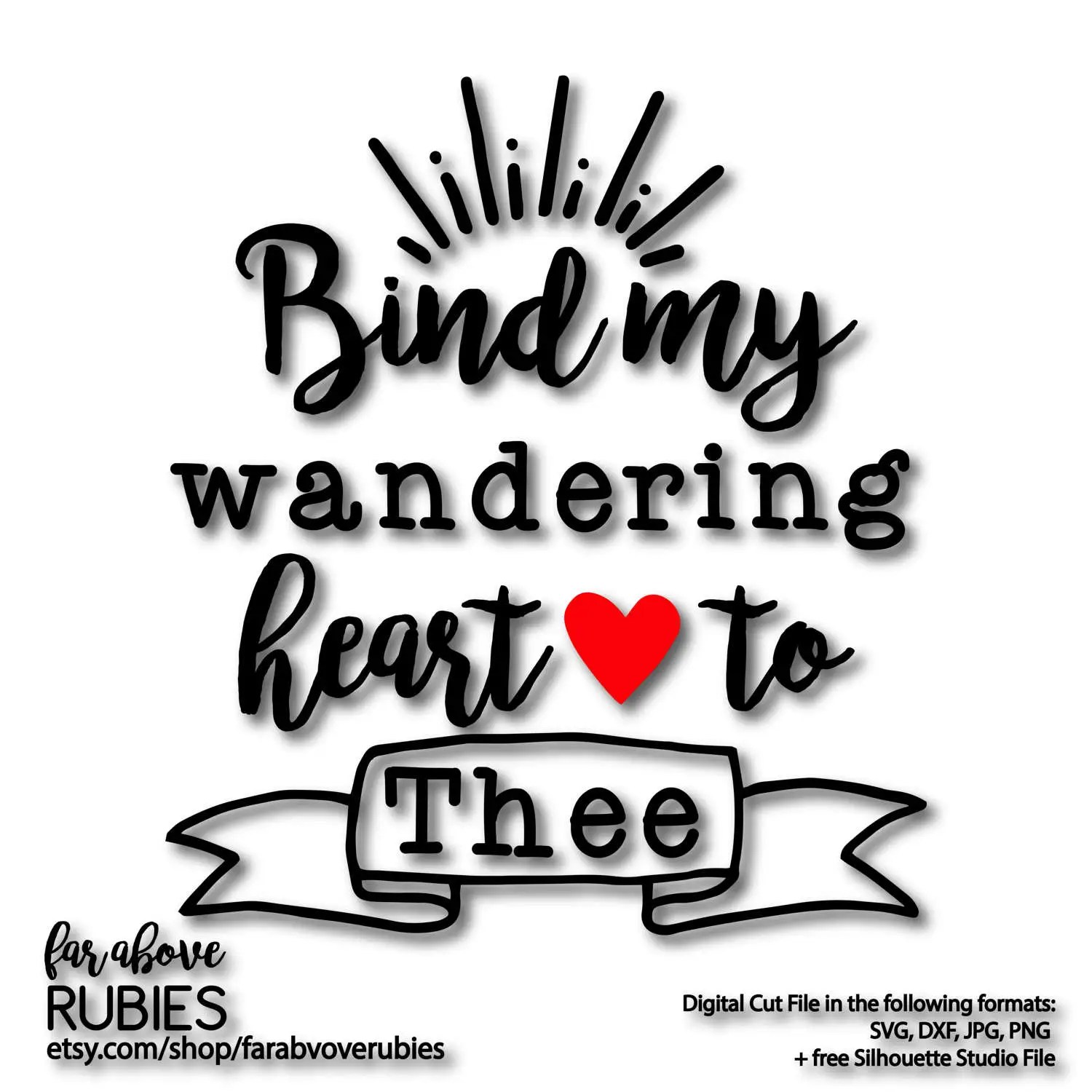 Bind My Wandering Heart to Thee Hymn Lyrics Come Thou Fount