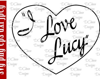 Download I love lucy | Etsy