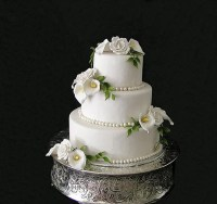 Silver Cake Stand Round Cake Stand Wedding Cake Stand