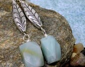 Gemstone and Silver Drop ...