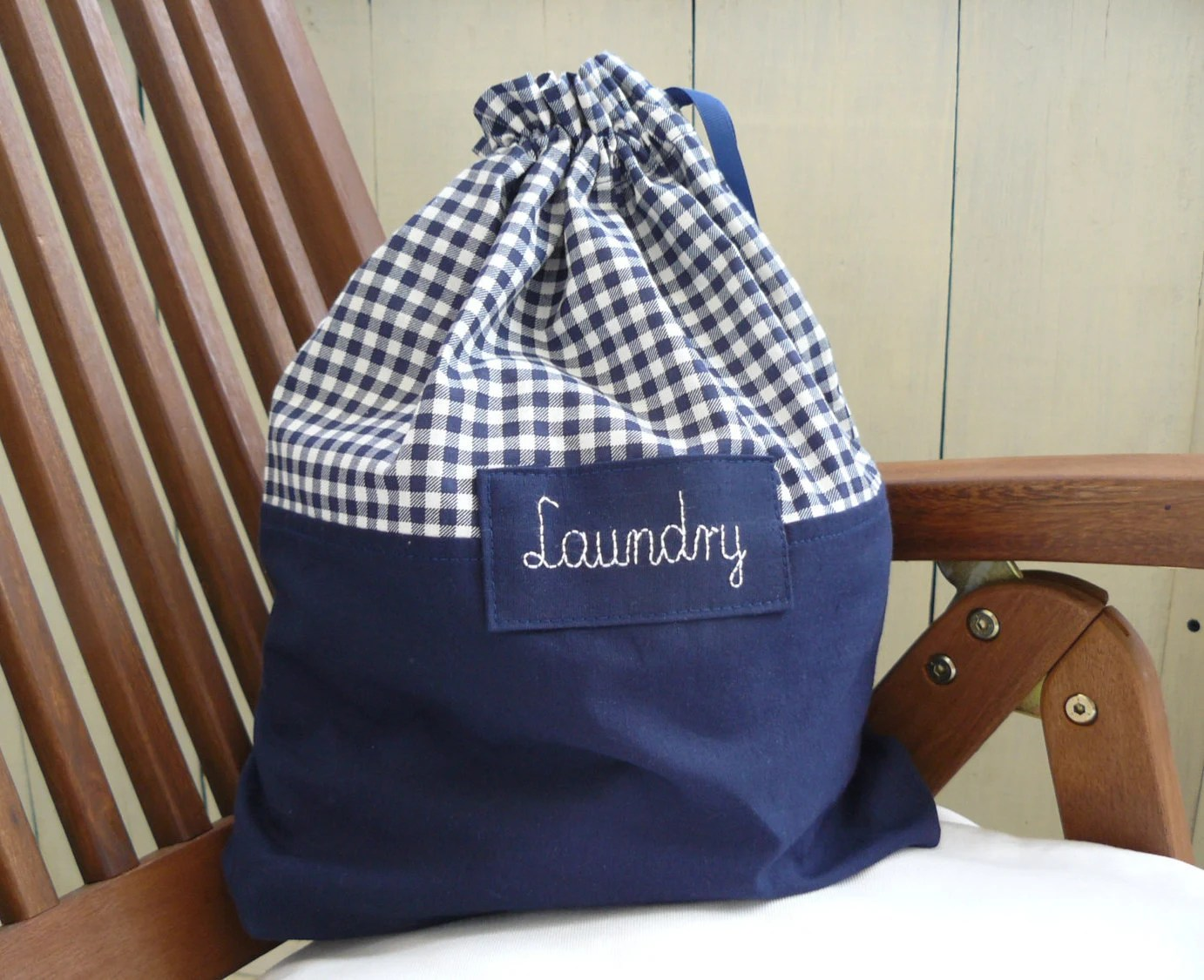 Items Similar To Travel Laundry Bag, Dirty Clothes Bag