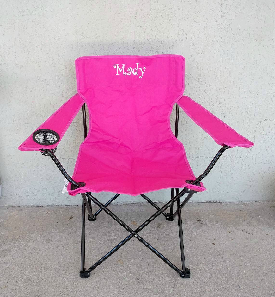 folding loveseat lawn chair discount pub table chairs personalized beach bag