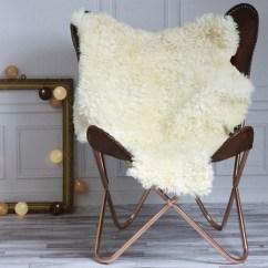 Sheepskin Rug On Chair Dxracer Gaming Chairs Review Sale Genuine Gotland Breed Pelt