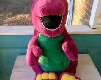 Barney the dinosaur  Etsy