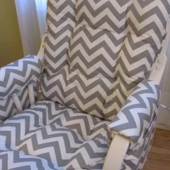 Rocking Chair Cushion Covers Summer Infant Glider/ Set With Matching By Cottageaccent