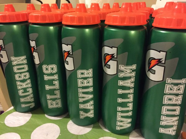 Personalized 32 Oz. Gatorade Water Bottle