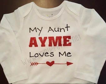 Download Love my aunt design | Etsy