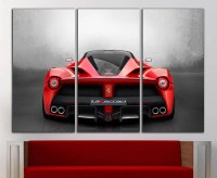 Ferrari canvas Ferrari print Ferrari wall art Ferrari wall